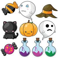 Ensemble Halloween mignon
