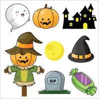 Ensemble Halloween mignon