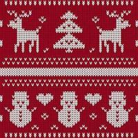 Fondo de punto sin costuras de Navidad