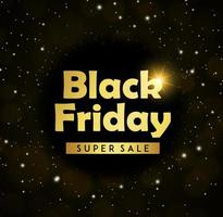 Sfondo del Black Friday