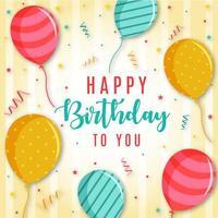 Sfondo Di Buon Compleanno
