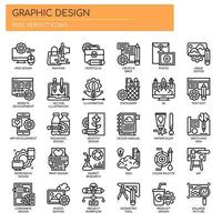 Graphisme Thin Line Icons