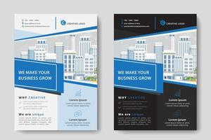 Angled Cutout Corporate Business Template