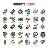 Gadget Thin Line Icons