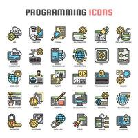 Programming Thin Line Icons