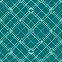 seamless rounded diamond geometric pattern vector