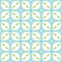 seamless pattern with x shape and diamonds vector