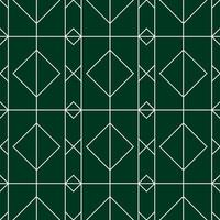 green and white diamond seamless pattern vector