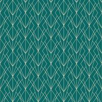 simple seamless art deco geometric diamond grass pattern