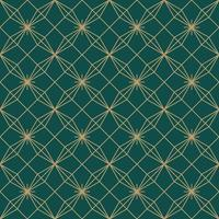 flower star simple seamless art deco pattern vector
