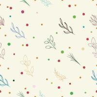 zachte naadloze bloemenpatroon vectorillustraties