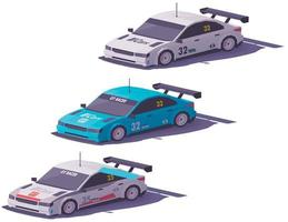 Isometric Racing Cars