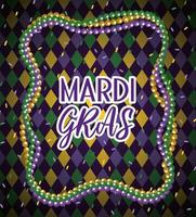 mardi gras necklace balls to event