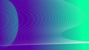 Wave Map Banner  vector