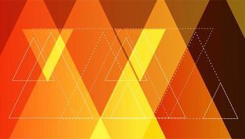 Fondo de triángulo vector