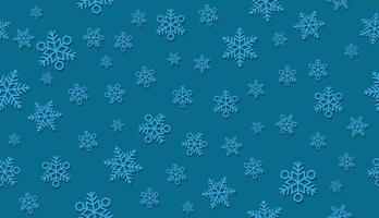 Seamless 3D snow background. Horizontally and vertically repeatable.