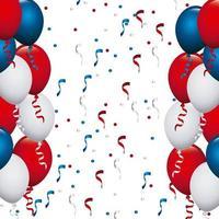Palloncini colorati USA