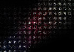 Conception de grille de carrés de demi-teintes de couleur arc-en-ciel