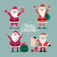 Feliz navidad santa