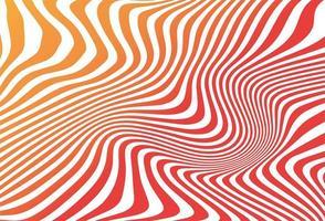Impression de fond abstrait coloré zigzag sans soudure