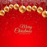 Hermosa tarjeta de festival de navidad