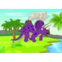 Triceratops no Parque Jurássico