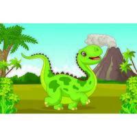 dinosauro nel parco giurassico
