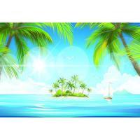 La hermosa isla