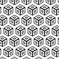 Vettore senza cuciture geometrico astratto moderno del modello