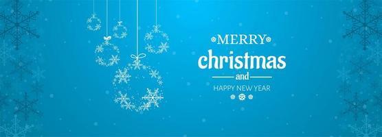 Christmas card celebration banner background vector