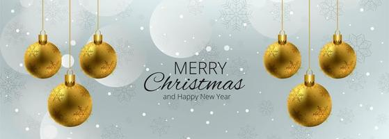 Merry christmas colorful card background banner vector