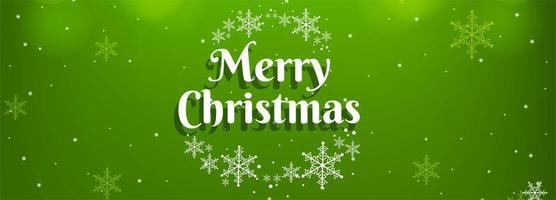 Vector de banner de fondo de tarjeta colorida de feliz Navidad
