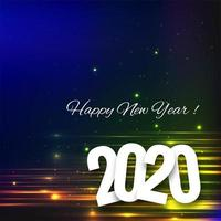 beautiful 2020 new year text celebration festival background