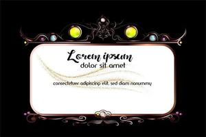 Ornament Border Shape Decoration vector