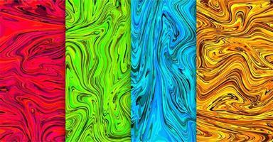 Liquid patterns set