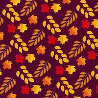 Fall Thanksgiving seamless pattern