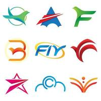 Fly freedom air logotype.