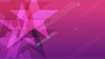 Pink Star abstract background