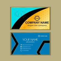 ID Card Template set vector