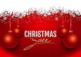 Sfondo di vendita di Natale
