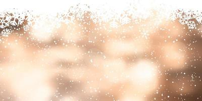 Jul snöflinga banner design