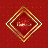 Fondo de Navidad rojo y dorado