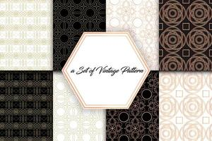 Vintage Geometric Patterns 02