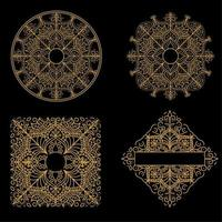 Mandala art design pattern