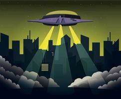 The UFO Is Landing