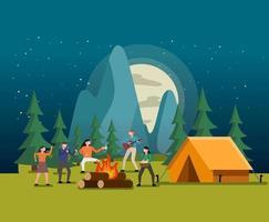 Het kampeerfeest