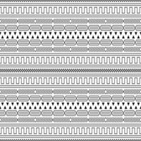 geometric basic shape line seamless pattern