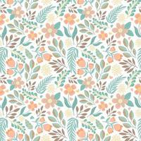 flower nature seamless pattern