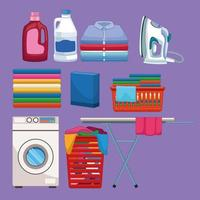 housekeeping and cleaning kit supplies