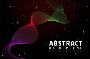 Abstract Blend Shape Background vector